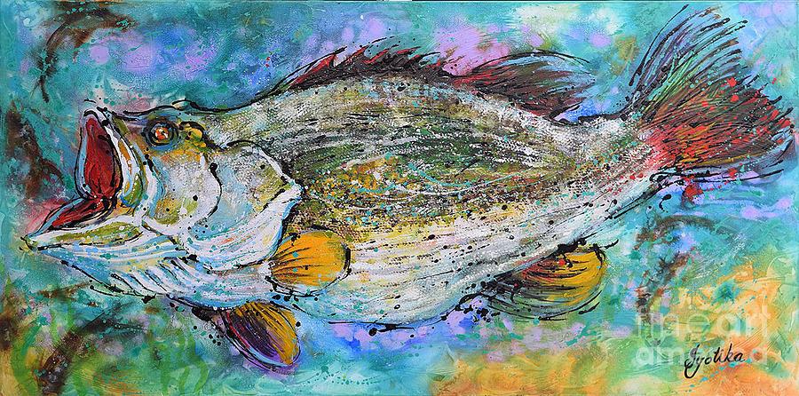 Largemouth Bass by Jyotika Shroff
