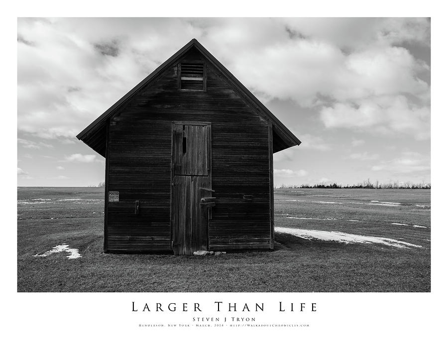 Barn Photograph - Larger Than Life by Steven Tryon