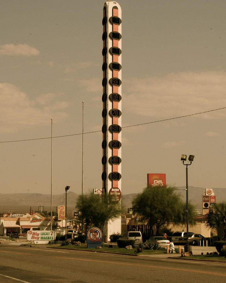 Landscape Photograph - Largest Thermostat by Aimee Galicia Torres