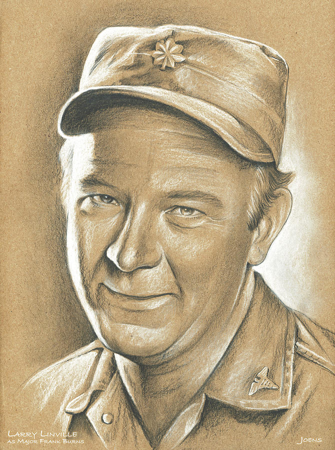 Larry Linville Drawing