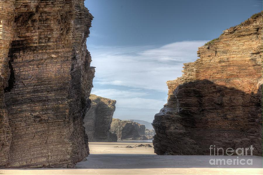 Beach Of Cathedrals Photograph