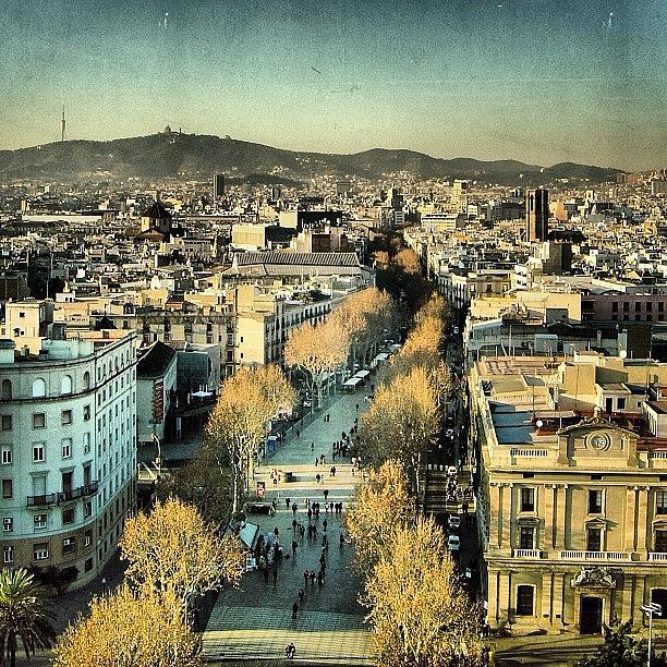Espanya Photograph - Las Ramblas - Barcelona by Joel Lopez