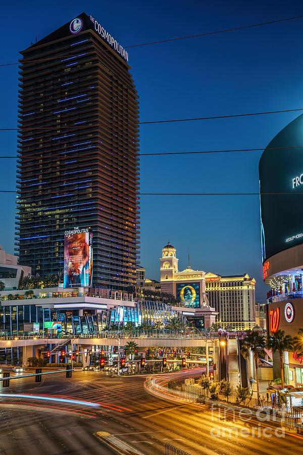 Las Vegas Cosmopolitan Tower Photograph
