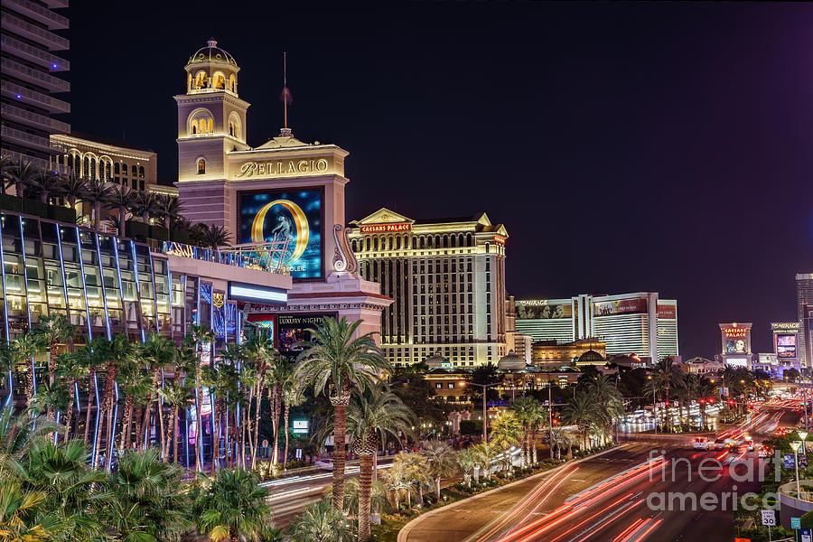 Las Vegas Strip Bellagio Photograph