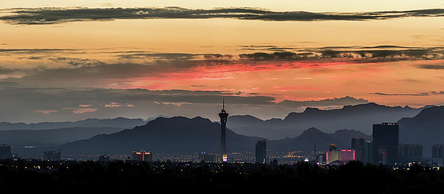 Las Vegas Sunrise July 2017 by Michael Rogers