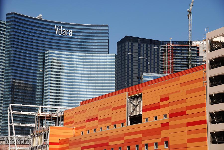 Las Vegas Photograph - Las Vegas Under Construction by Susanne Van Hulst