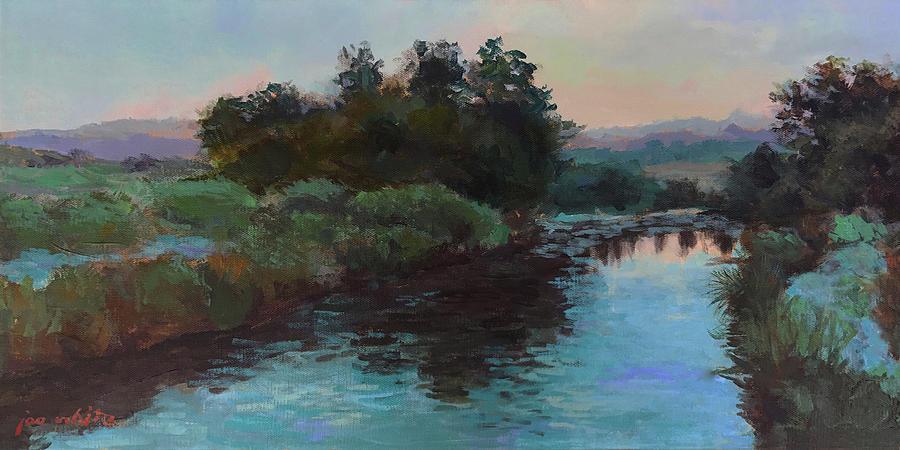 Acrylics Painting - Las Vegas Wetlands by Joe White