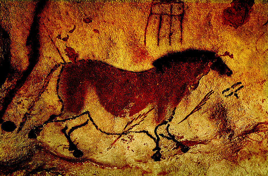 caveart at lascaux Cave art definition is - the art of paleolithic humans represented by drawings and paintings on the walls of caves the art of paleolithic humans represented by.