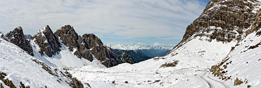 Tirol Photograph - Laserz Corrie by Leopold Brix