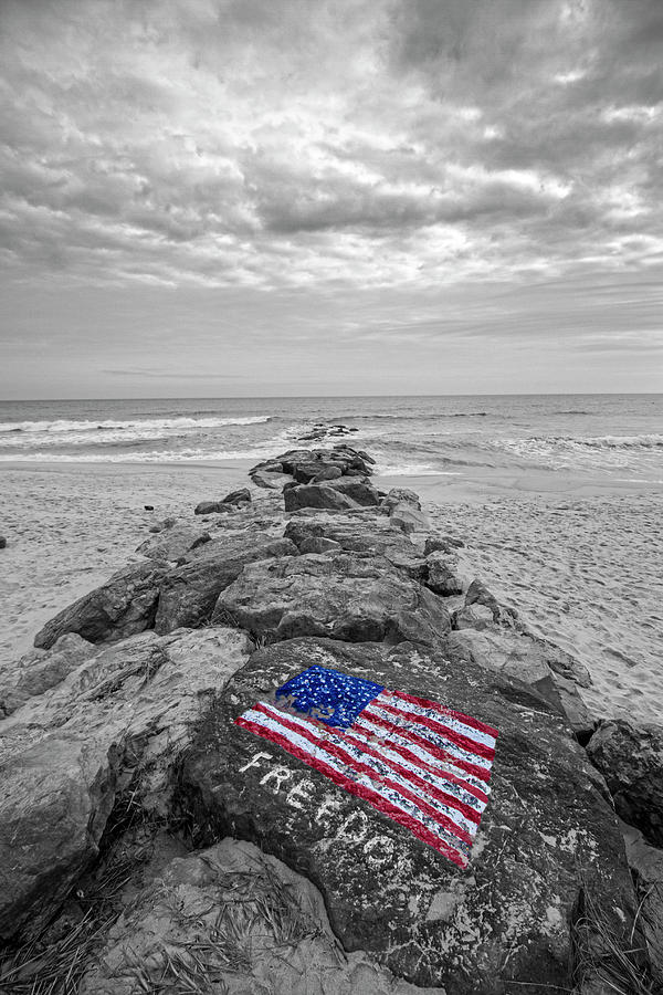 Lashley Beach Freedom by Robert Seifert