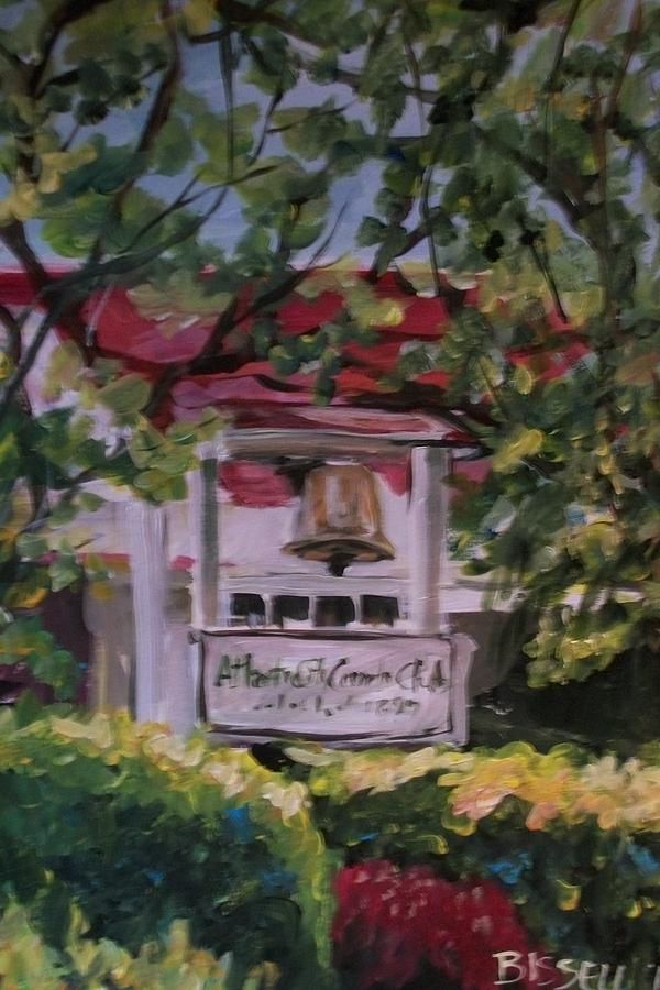 Atlantic City Country Club Painting - Last Call by Mickey Bissell