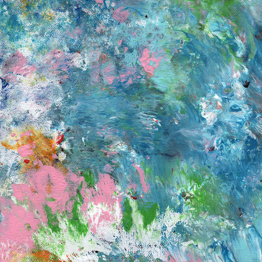 Abstract Painting - Last Dance- Abstract Art by Linda Woods by Linda Woods