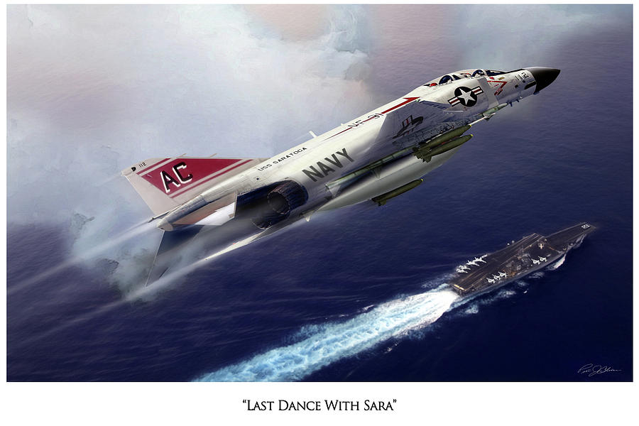 Aviation Digital Art - Last Dance With Sara V2 by Peter Chilelli