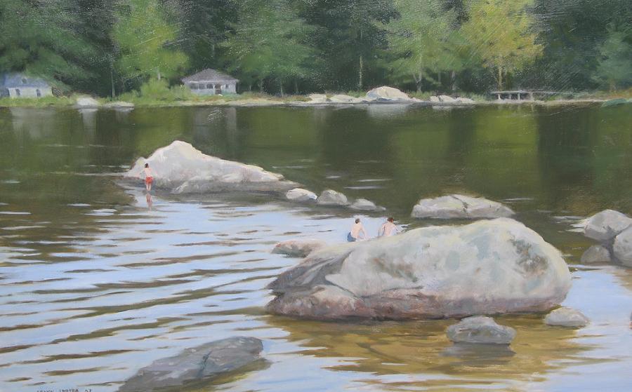 Last Day Of Summer Painting by Frank Sadera