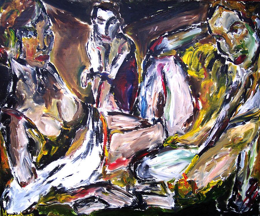 Portrait Painting - Last Days by R Harenberg