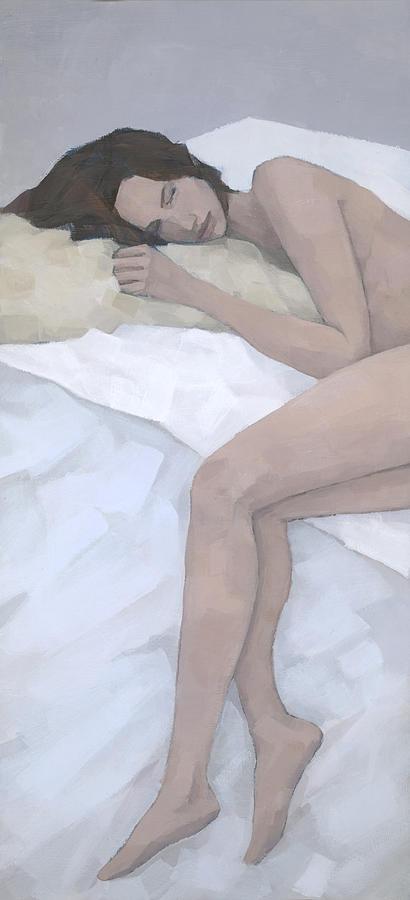 Sleeping Painting - Last Dream by Steve Mitchell