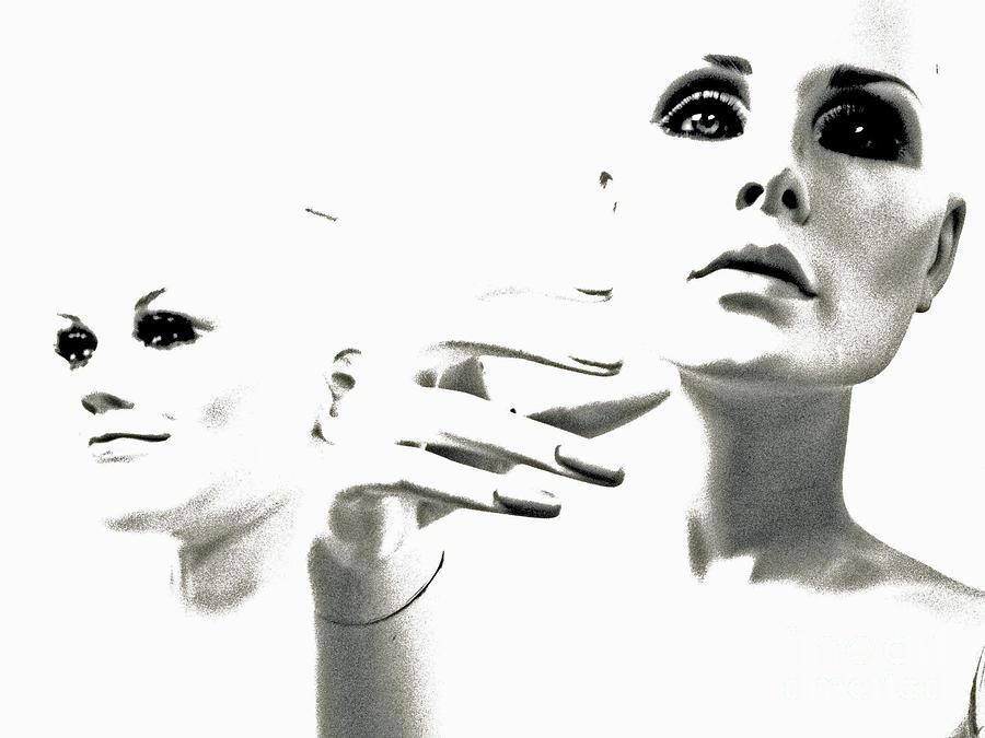 Mannequin Photograph - Last Glance Back by Joe Jake Pratt