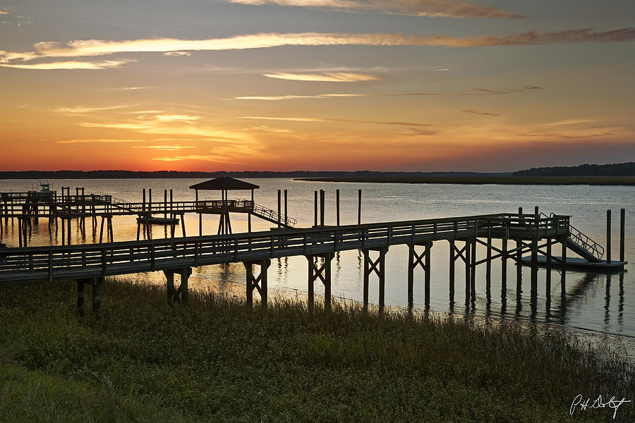 Beaufort County Photograph - Last Look At The River by Phill Doherty