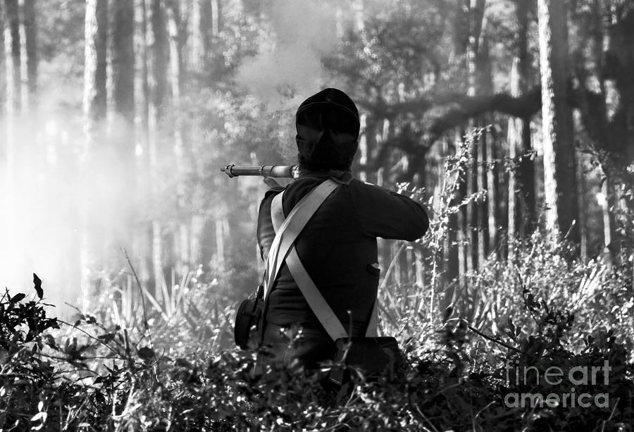 Last Man Standing Photograph - Last Man Standing by David Lee Thompson