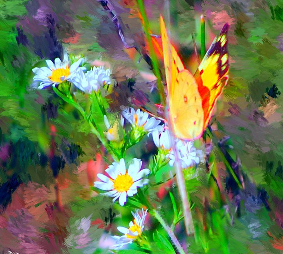 Landscape Painting - Last Of The Season by David Lane