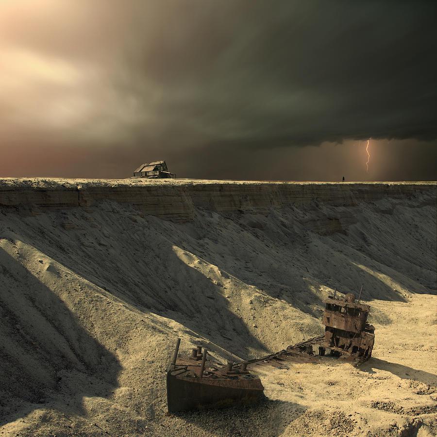 Landscape Photograph - Last Outpost by Michal Karcz