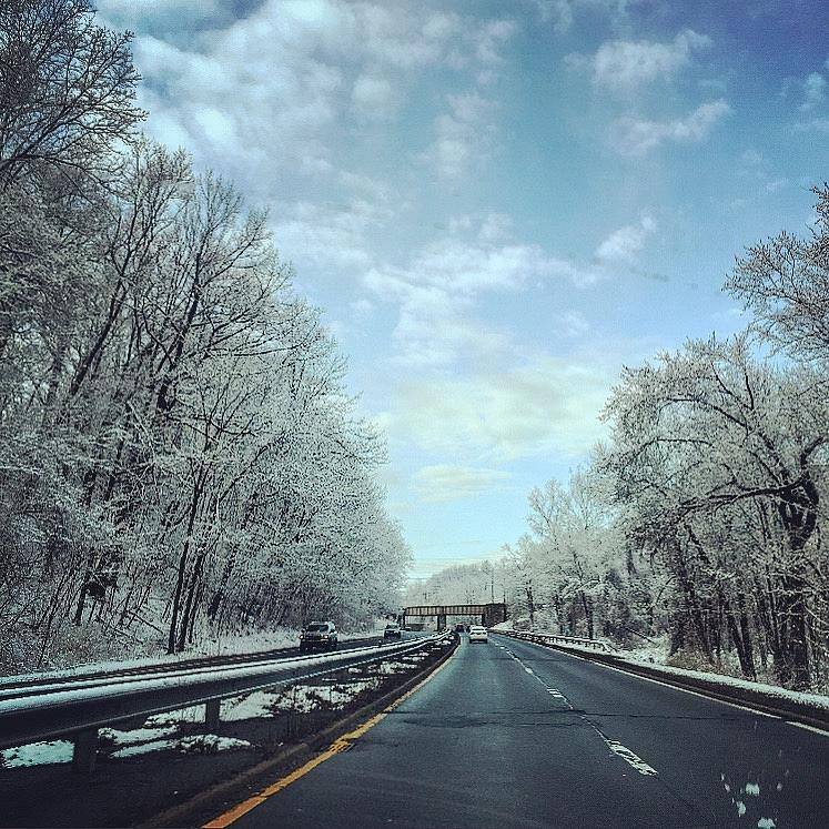 Snow Photograph - Last Snow Fall by Joseph Mari