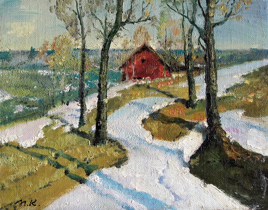 Last Snow Painting