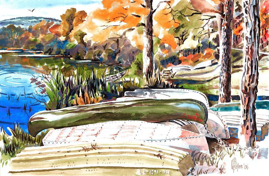 Watercolour Painting - Last Summer In Brigadoon by Kip DeVore