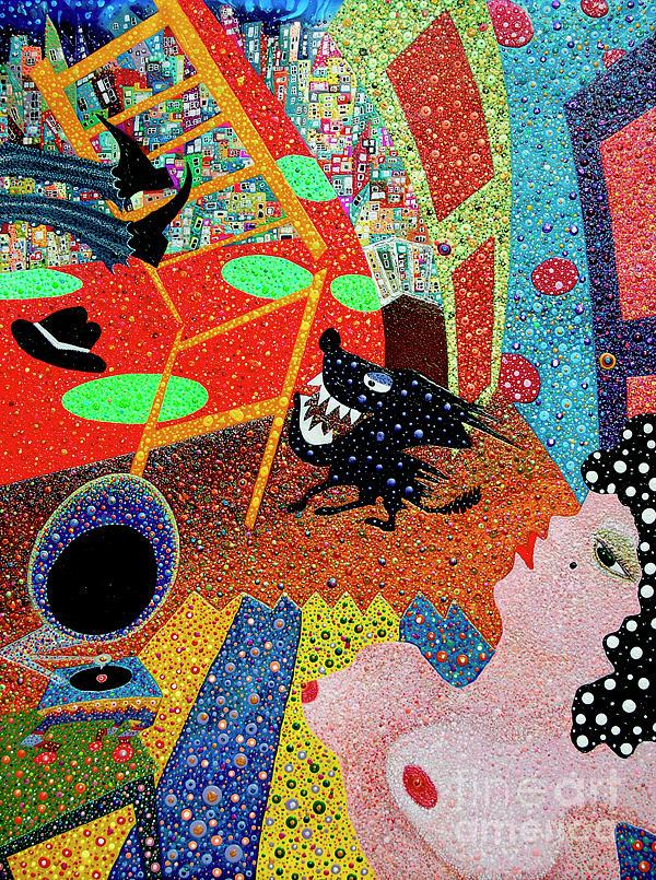 Tango Painting - Last Tango by Johny Deluna