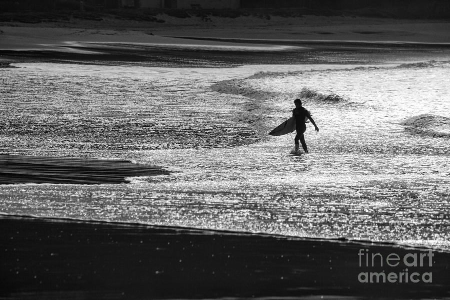 Surfer Photograph - Last wave by Sheila Smart Fine Art Photography