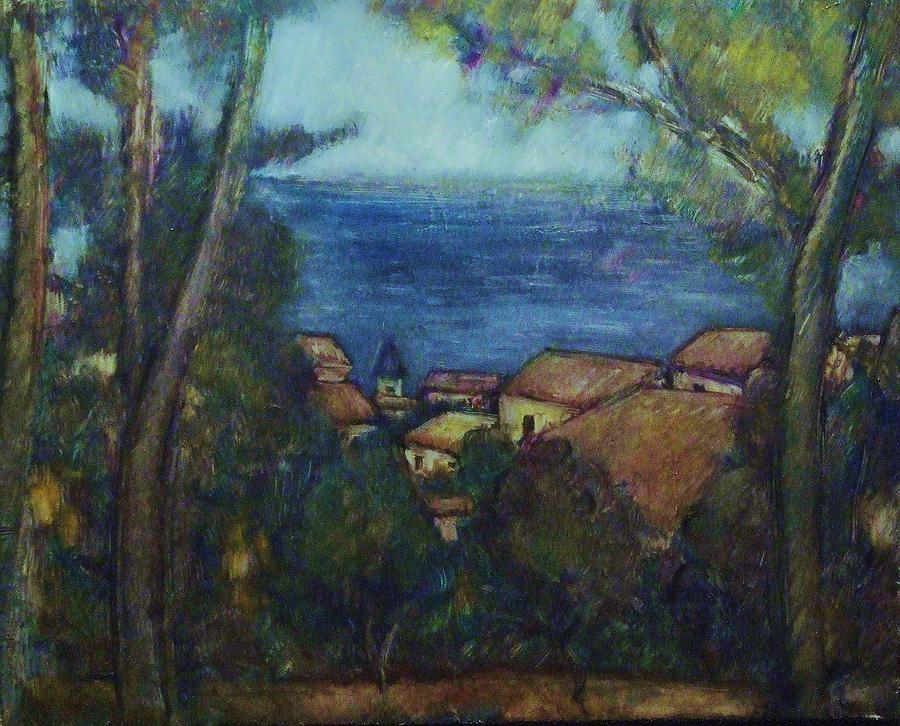 Seascape Painting - Latalay by Jean pierre  Harixcalde