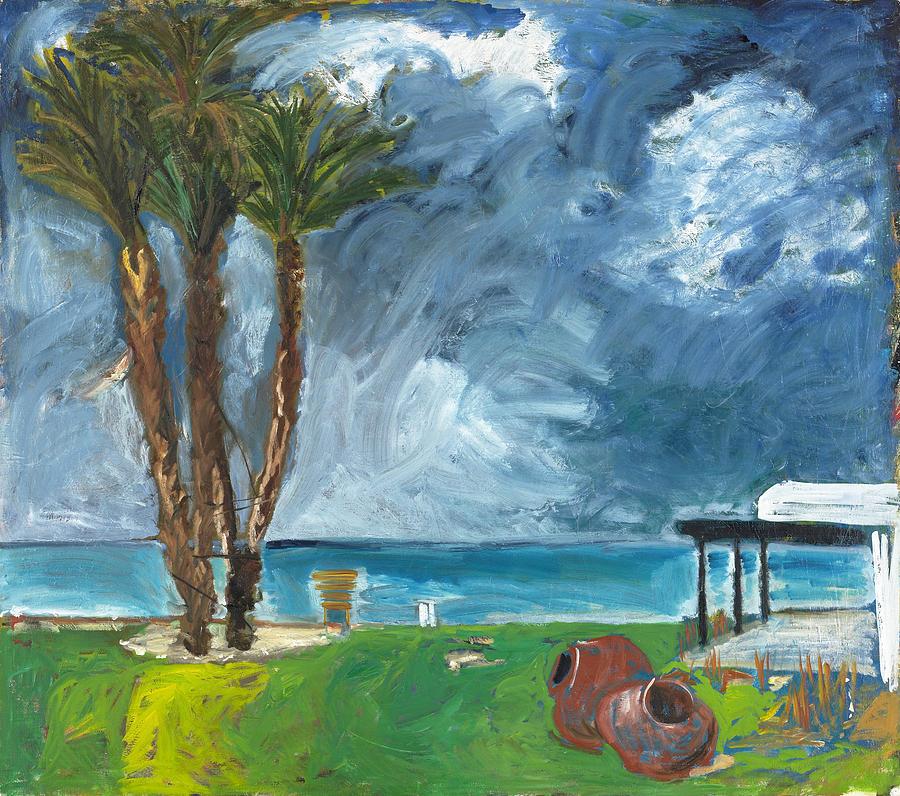 Latchi Painting by Joan De Bot