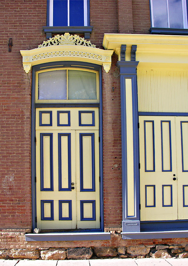 Americana Photograph - Late 1800s Door by Marilyn Hunt