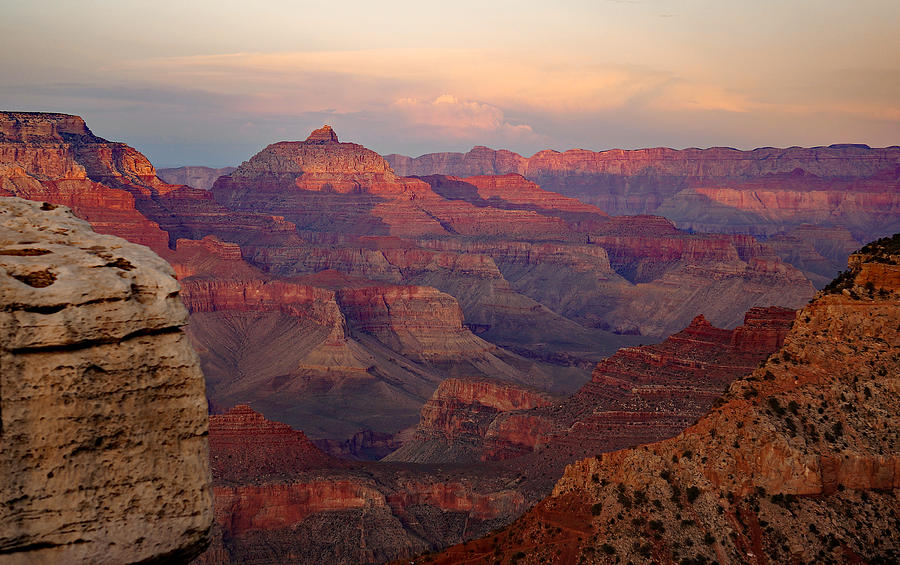 Late Afternoon Grand Canyon Photograph by Ann Keisling