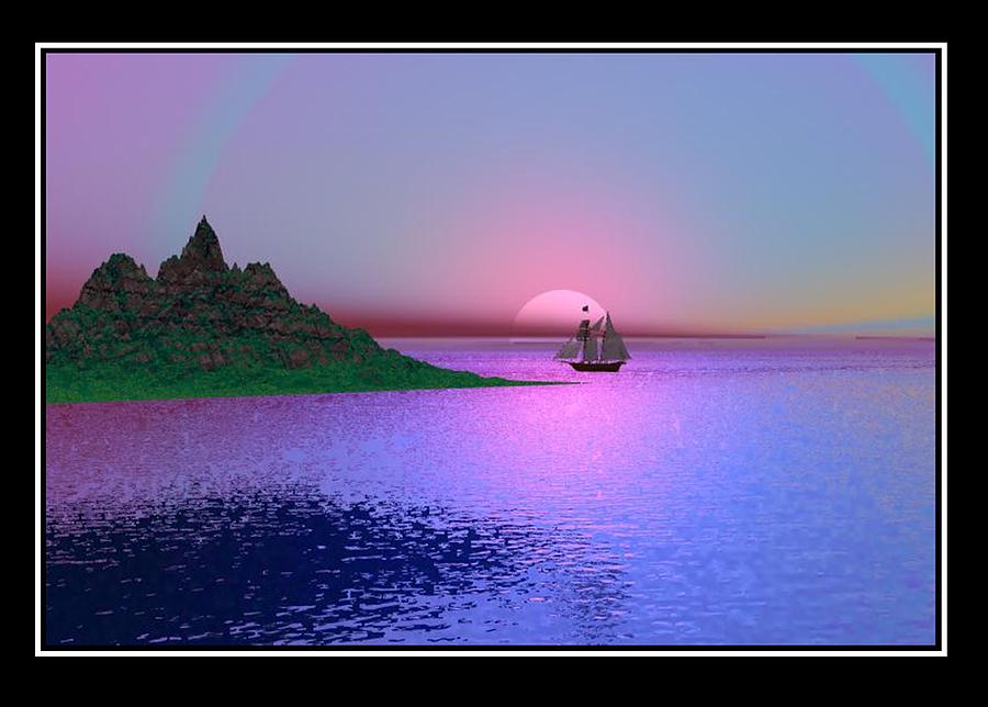 Late Afternoon Digital Art by William  Ballester