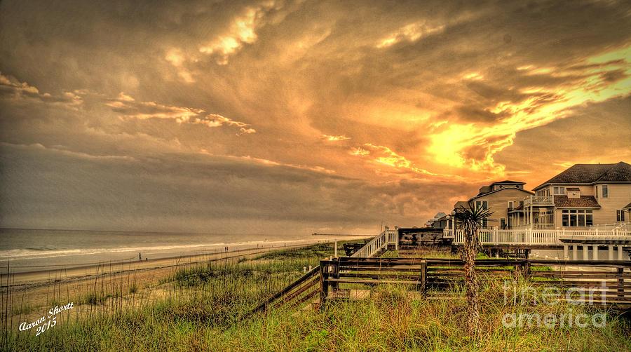 Beach Photograph - Late Day Beach by Aaron  Shortt