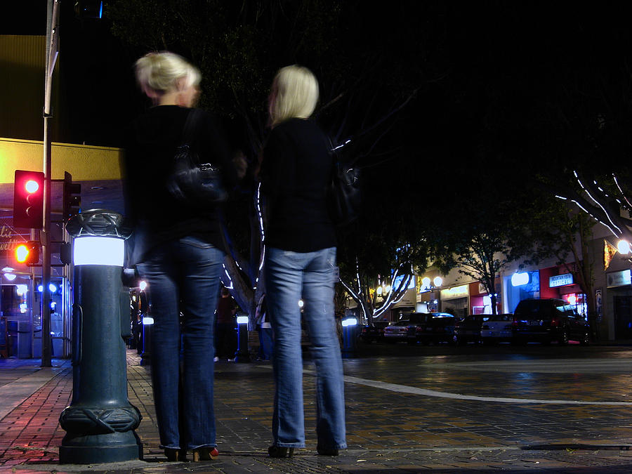 Women Photograph - Late Night Conversations by Ashley Cauvel