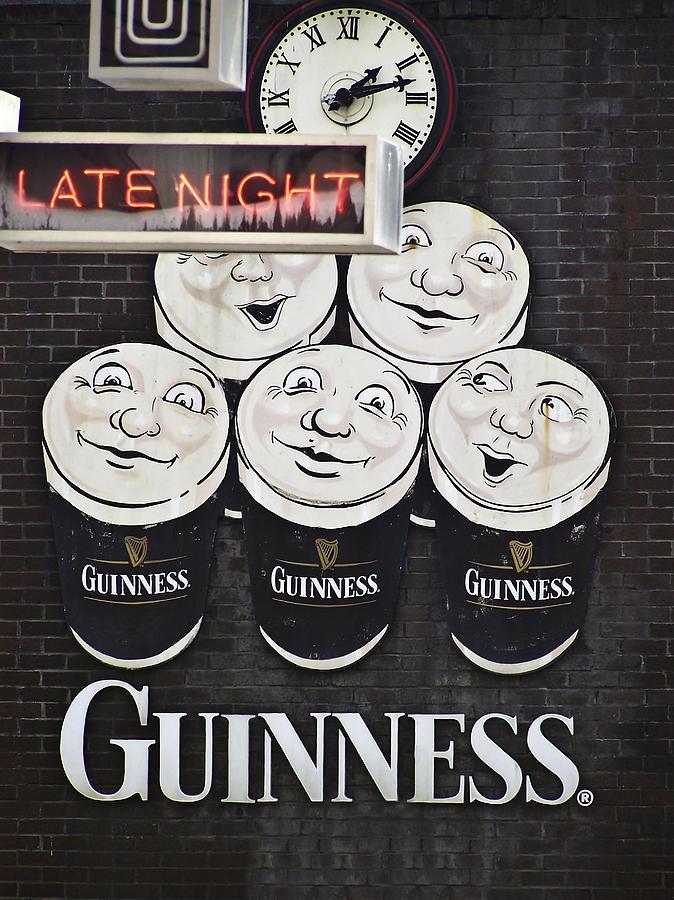 Late Night Guinness Limerick Ireland Photograph