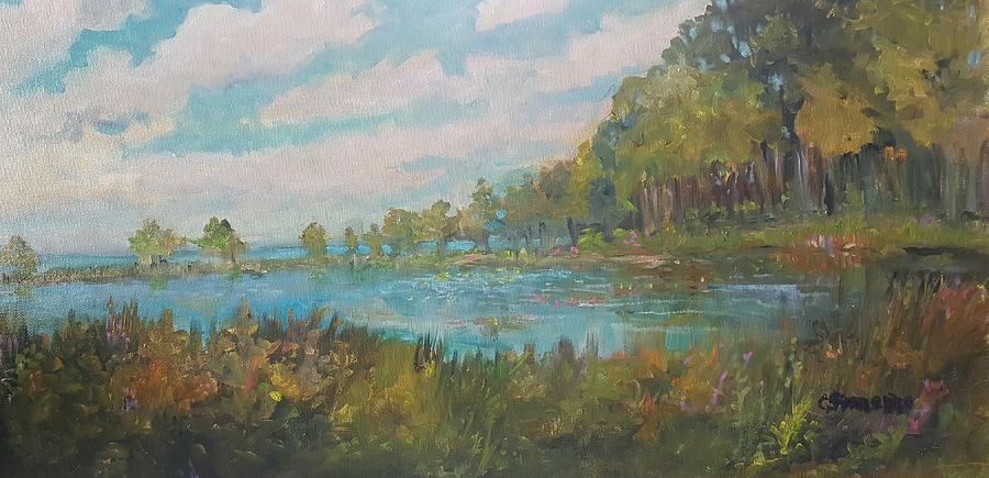Late Summer on the Lake Ontario by Cheryl LaBahn Simeone