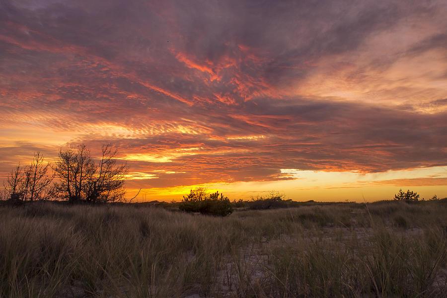 Summer Photograph - Late Summer Sunset by Roderick Breem