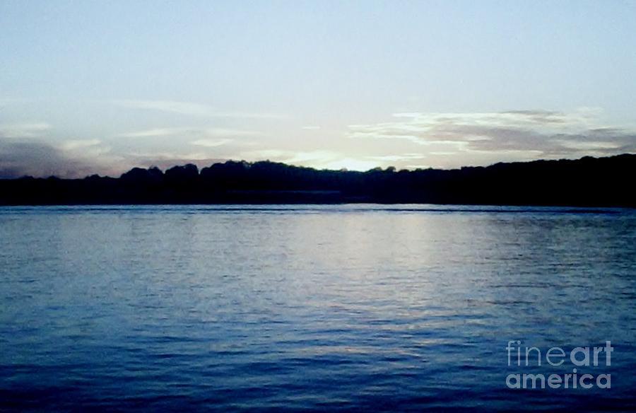 Photo Photograph - Late Sundown by Marsha Heiken
