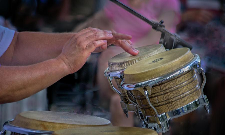 Latin Jazz Musician Photograph