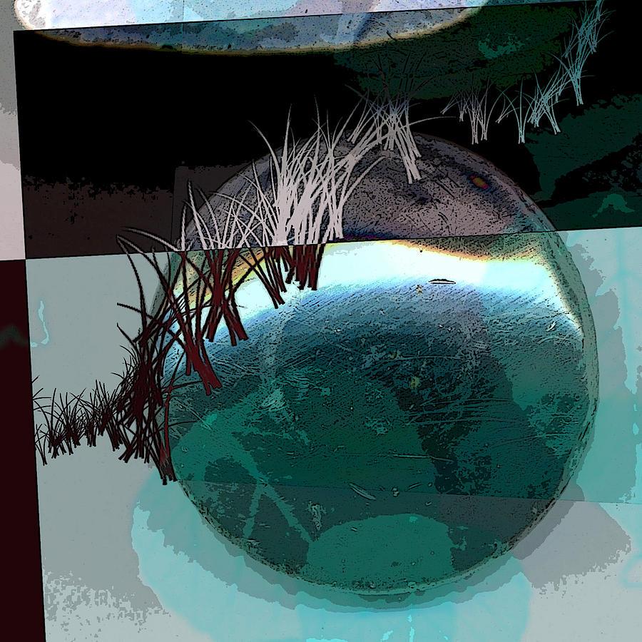 Abstract Digital Art - Latitude by Theresa Paris