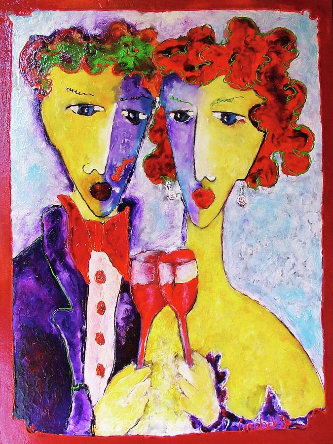 Share Painting - Laubar Share by Laurens  Barnard