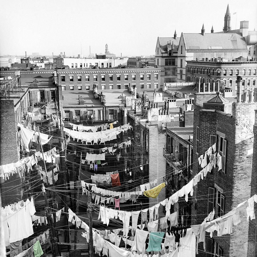 Laundry Photograph - Laundry Day by Andrew Fare