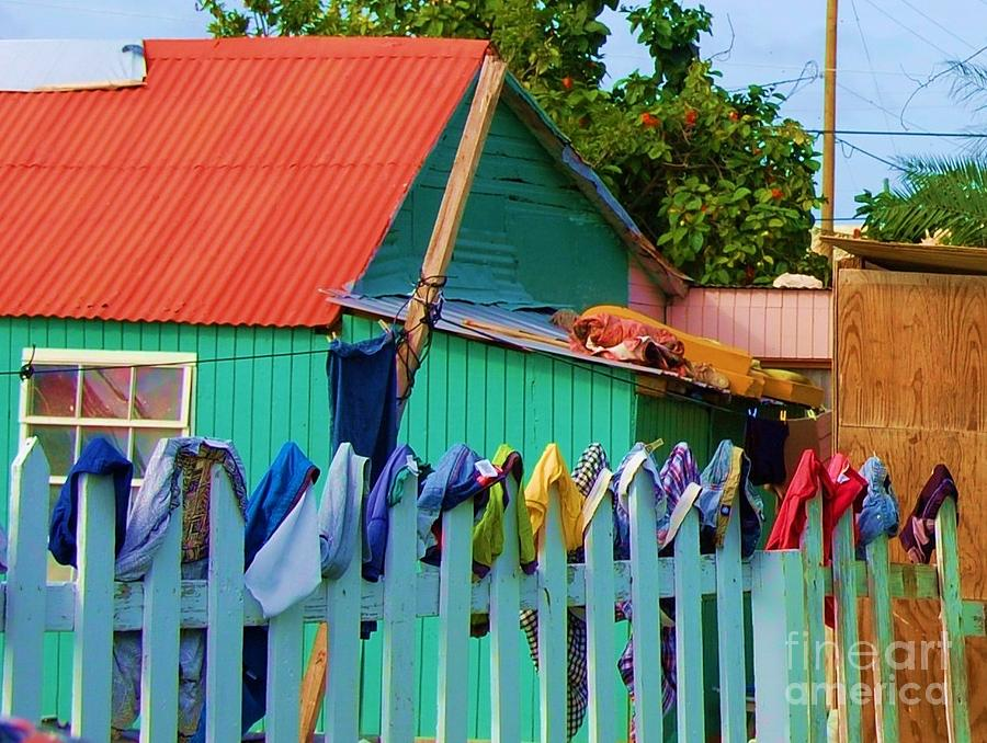 Clothes Photograph - Laundry Day by Debbi Granruth