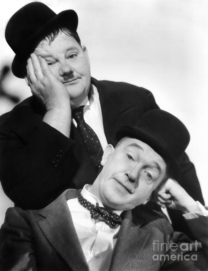 Laurel And Hardy 1939 Photograph by Granger – Laurel and Hardy Birthday Cards