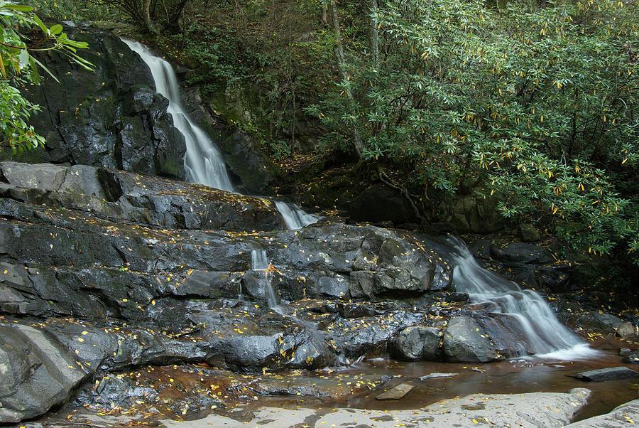 Landscape Photograph - Laurel Falls 2 by Michael Peychich