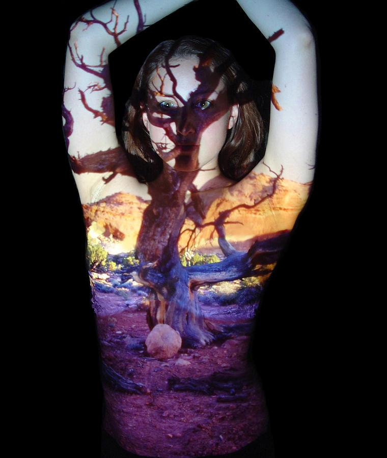 Nature Fusion Photograph - Lauren by Arla Patch