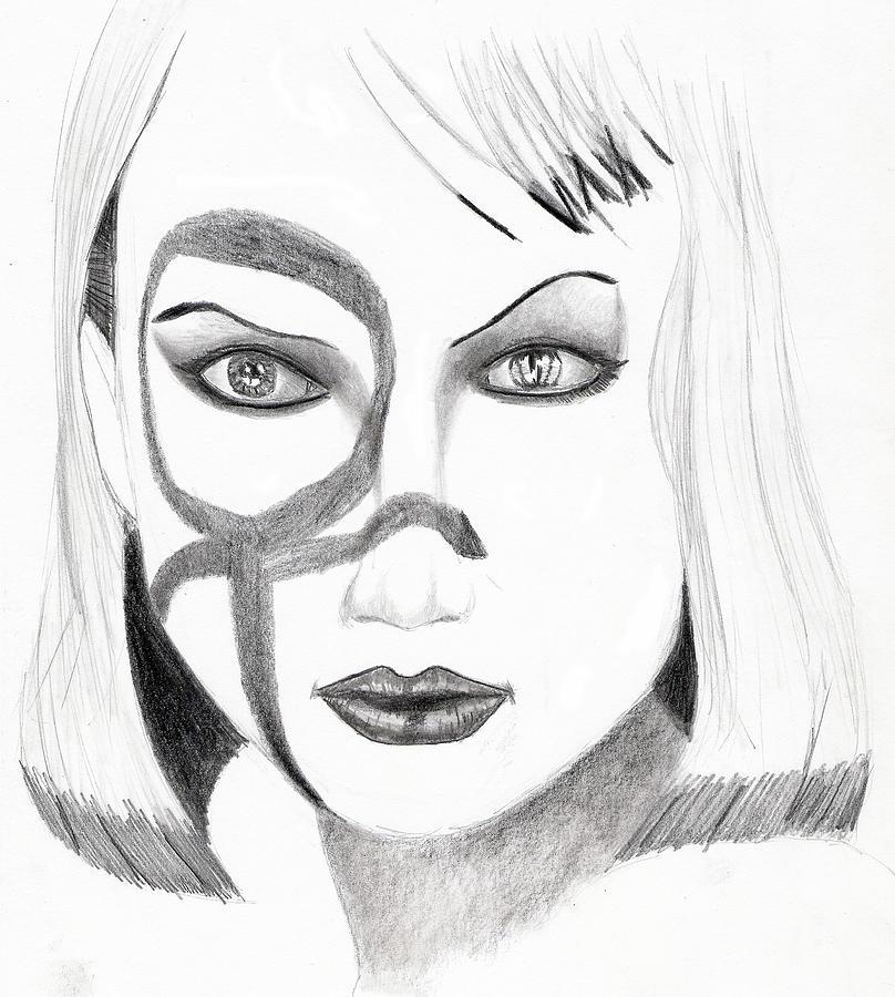 Nude Drawings Drawing - Lauren by Michael McKenzie